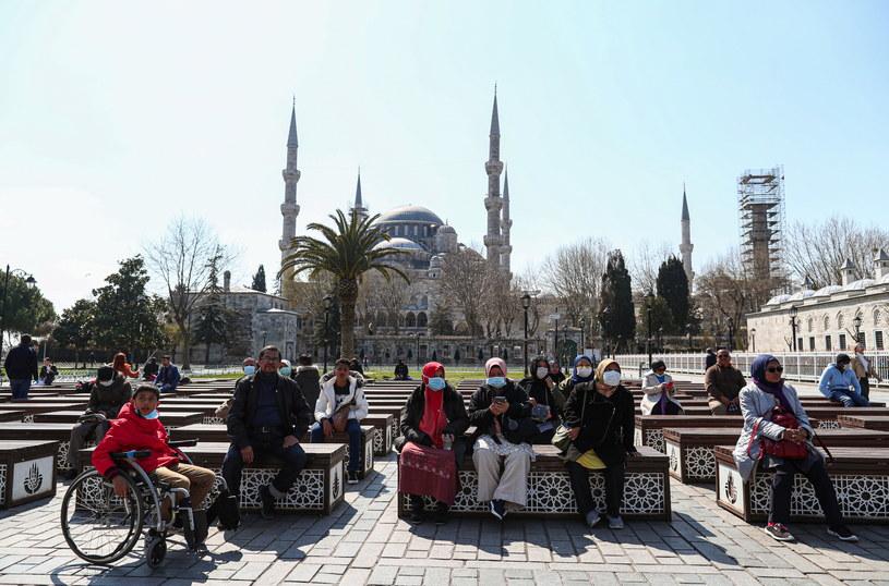 Pierwszy przypadek koronawirusa w Turcji potwierdzono przed 10 dniami /SEDAT SUNA /PAP/EPA