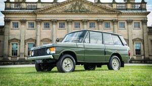 Pierwszy Range Rover trafi na aukcję
