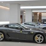 Pierwszy salon Ferrari