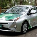 Pierwszy samochód hybrydowy na etanol