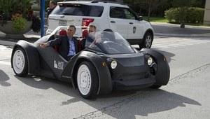 Pierwszy samochód z drukarki 3D