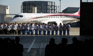 Pierwszy samolot pasażerski Mitsubishi Aircraft Corporation