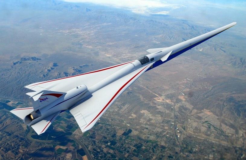 Pierwszy samolot supersoniczny już powstaje - to X-59 /materiały prasowe