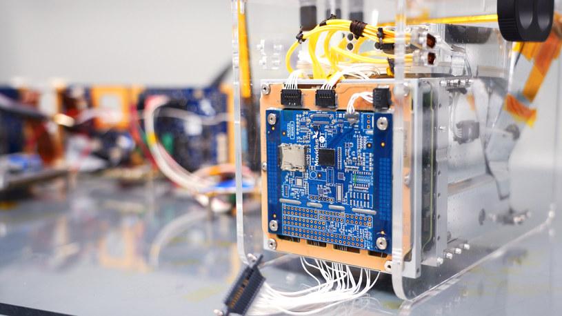 Pierwszy satelita z AI /materiały prasowe