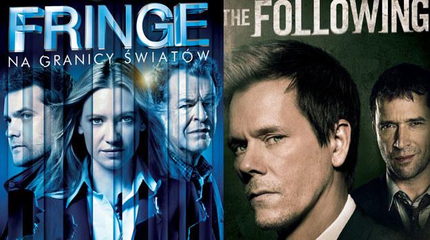 """Pierwszy sezon serialu """"The Following"""" oraz czwarty sezon serialu """"Fringe"""" są już dostępne na DVD /materiały dystrybutora"""