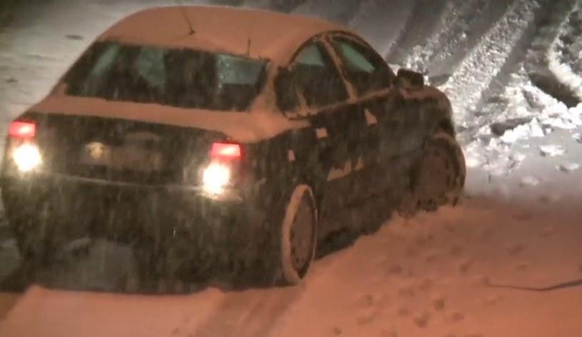 Pierwszy śnieg tej jesieni /INTERIA.PL