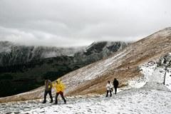 Pierwszy tej jesieni śnieg spadł w Tatrach