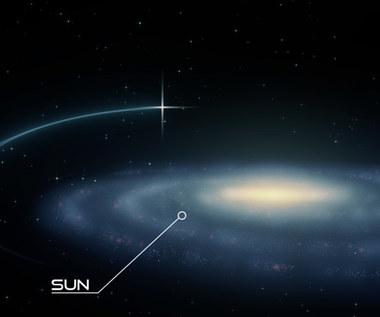 Pierwszy układ podwójny gwiazd hiperprędkościowych