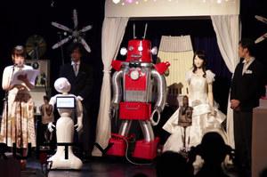 Pierwszy w historii ślub robotów