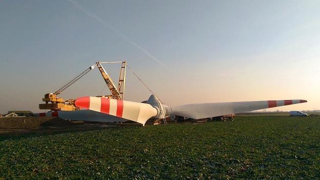 Pierwszy w kraju park wiatrowy w modelu obywatelskim w Oprzężowie (woj. łódzie) /Informacja prasowa
