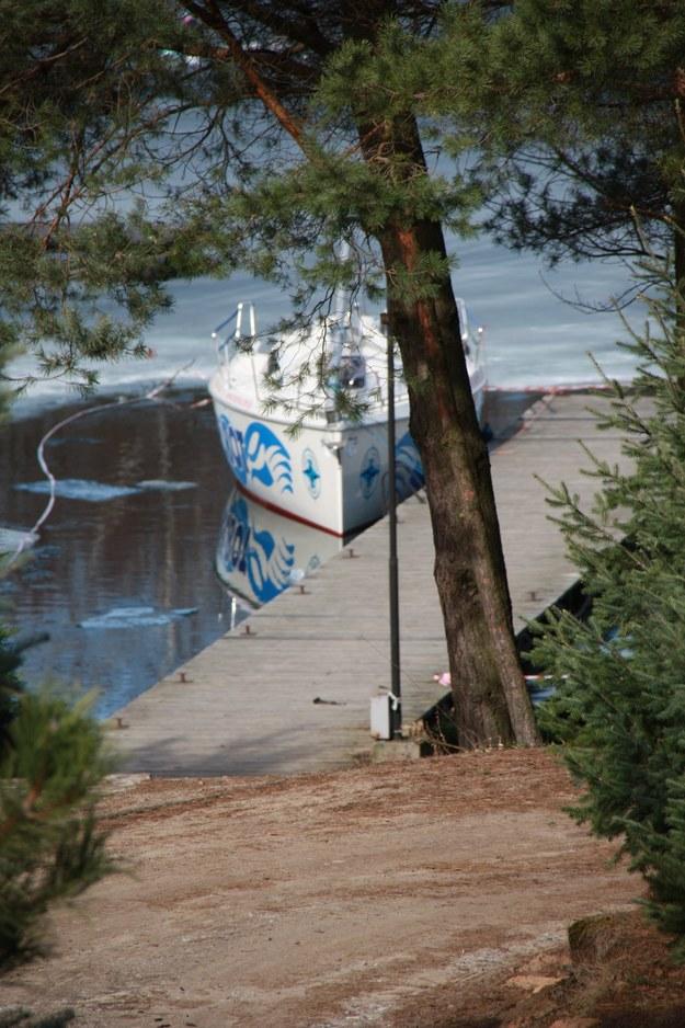 Pierwszy zwodowany jacht  /Słuchacz RMF FM Szymon /Gorąca Linia RMF FM