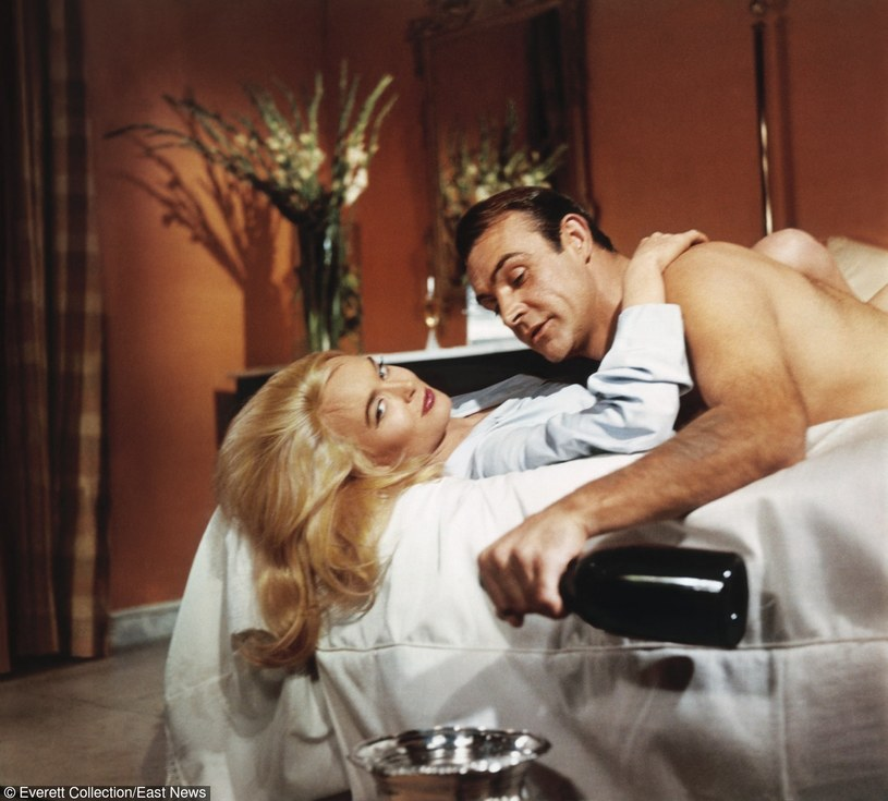 "Pierwszym Bondem Hamiltona był ""Goldfinger"" (1964) /Everett Collection /East News"