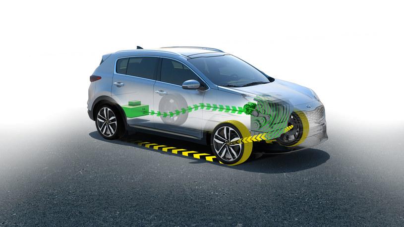 Pierwszym modelem z hybrydą typu mild hybrid będzie Kia Sportage /