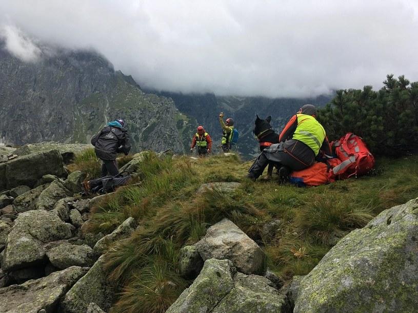 Pies czuwał przy ciele 28-latki w górach /foto. Horská záchranná služba/Facebook /facebook.com