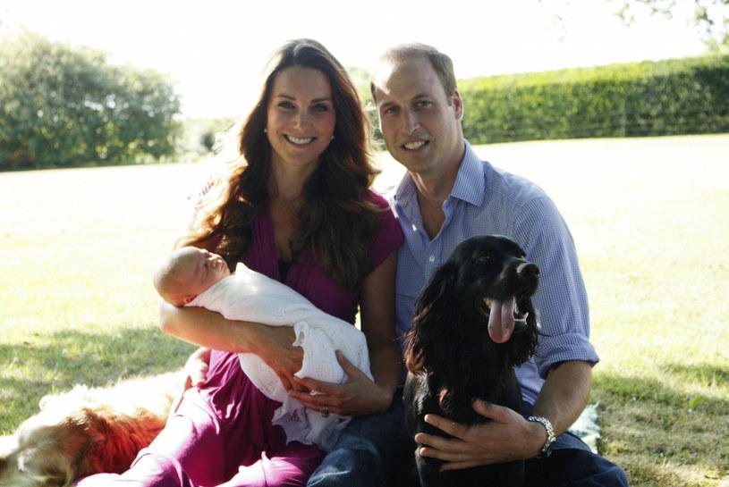 Pies Lupo był z rodziną w najważniejszych dla nich momentach /AFP /East News