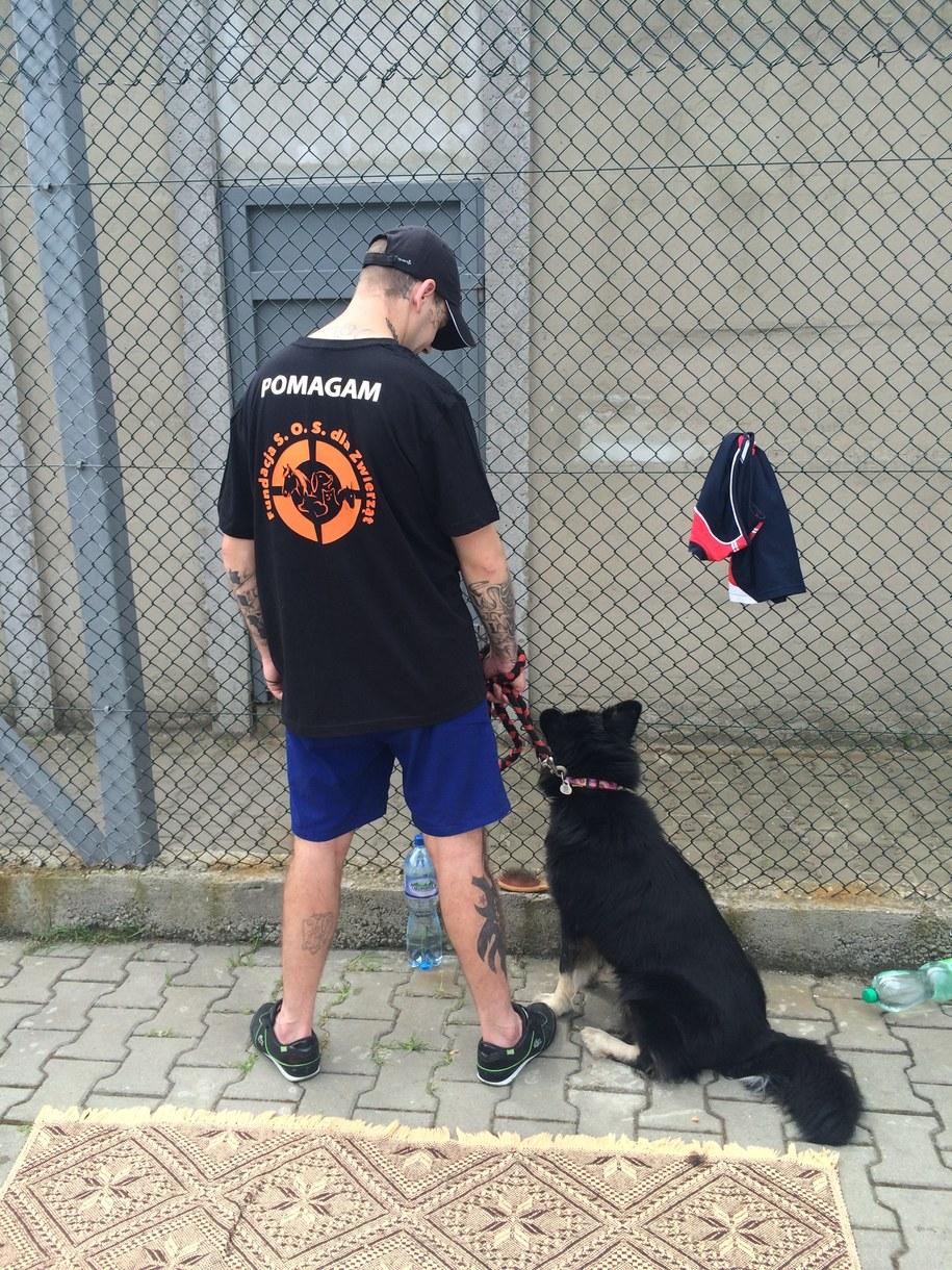 Pies najlepszym przyjacielem więźnia /Anna Kropaczek, RMF FM /RMF FM