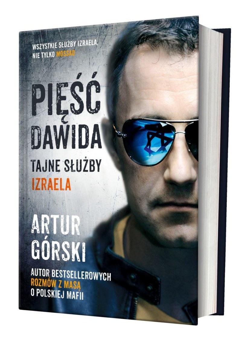 """""""Pięść Dawida. Tajne służby Izraela"""" Dawid Górski /INTERIA.PL/materiały prasowe"""