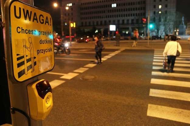 Piesi uczestnicy ruchu drogowego powodują ponad 11,4 proc wypadków. Fot. Waszkiewicz /Reporter