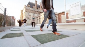 Piesi wyprodukują energię dla miasta
