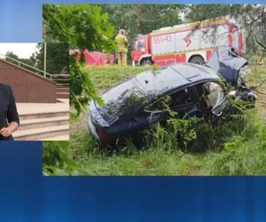 Pijany i bez prawa jazdy spowodował wypadek. Zginęło małżeństwo