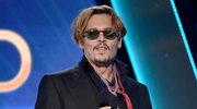 Pijany Johnny Depp przemawia na gali!