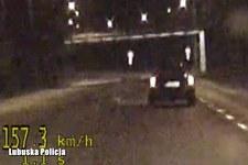 Pijany kierowca pędził przez miasto