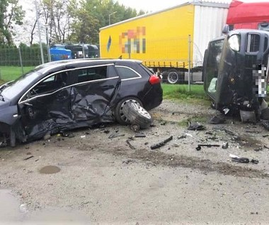 Pijany kierowca Porsche doprowadził do wypadku