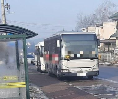 Pijany kierowca prowadził szkolny autobus!