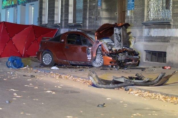 Pijany kierowca tego samochodu zabił dwie osoby /PAP