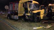 Pijany kierowca wjechał tirem w samochód osobowy. Jedna osoba nie żyje