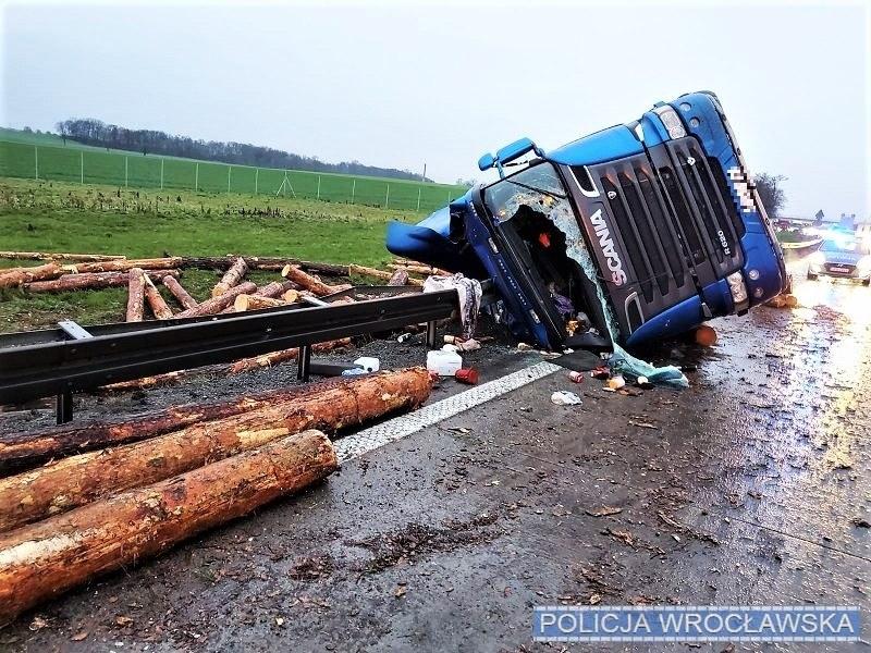 Pijany kierowca został ranny /