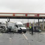 Pijany Łotysz staranował auta na bramkach na A2. Jest areszt