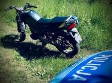 Pijany motocyklista wiózł pijaną pasażerkę