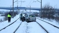 Pijany taksówkarz zablokował tory kolejowe