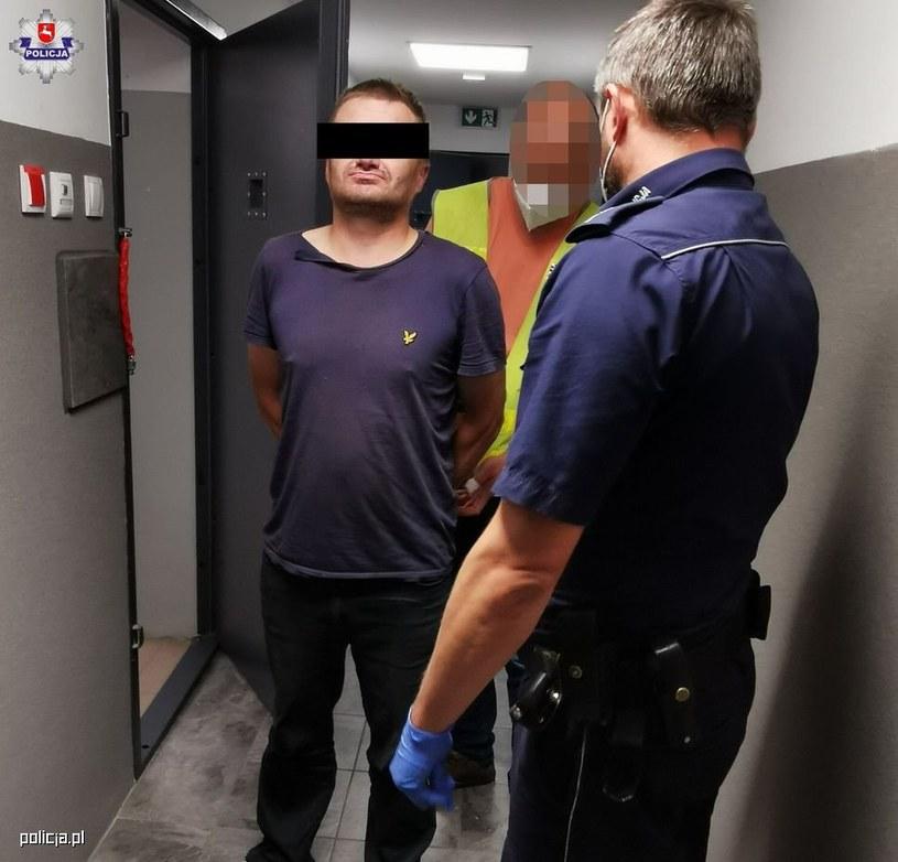 Pijany traktorzysta staranował dwa radiowozy /Policja Lubuska /materiały prasowe