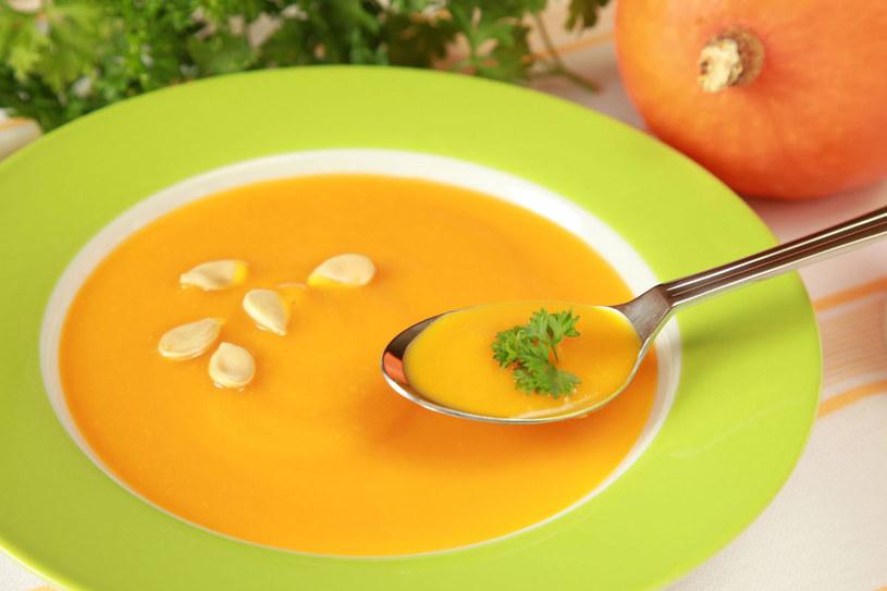 Pikantna zupa-krem z dyni /123RF/PICSEL