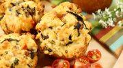 Pikantne muffinki na maślance