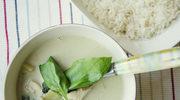 Pikantne, zielone curry z kurczakiem