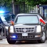 Pił podczas wizyty Obamy. Jest nagana dla oficera policji
