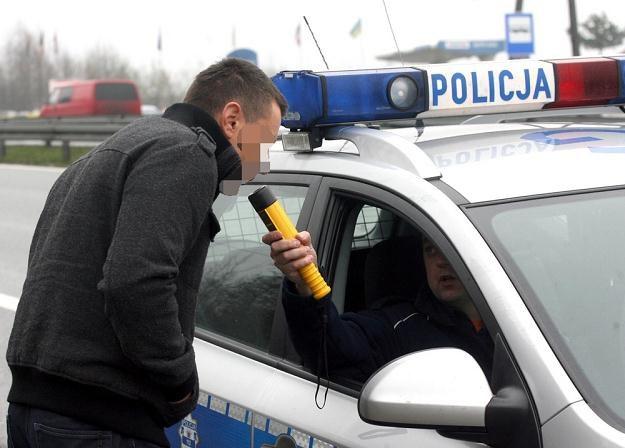 Piłeś? Nie jedź / Fot: Artur Barbarowski /East News