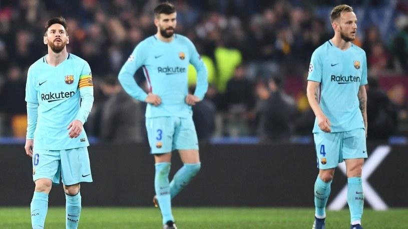 Piłka Barcy nie mogli uwierzyć w to, co stało się na Stadio Olimpico w Rzymie /Getty Images