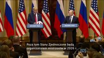 """""""Piłka jest po waszej stronie"""". Putin przekazał Trumpowi futbolówkę"""