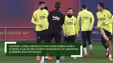 Piłka Nożna. Umowa Lionela Messiego z Barceloną zbliża się do daty wygaśnięcia. Wideo