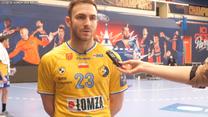 Piłka ręczna. Arkadiusz Moryto (skrzydłowy Łomży Vive Kielce) po meczu z PSG. Wideo