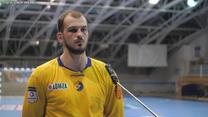 Piłka ręczna. Artsem Karalek (Łomża Vive) po meczu z Pick Szeged w LM. Wideo