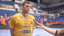 Piłka ręczna. Branko Vujović, rozgrywający Łomży Vive Kielce. Wideo