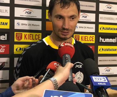 Piłka ręczna. Krzysztof Lijewski po pierwszym treningu PGE Kielce. Wideo