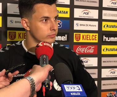 Piłka ręczna. Szymon Sićko po pierwszym treningu PGE Kielce. Wideo