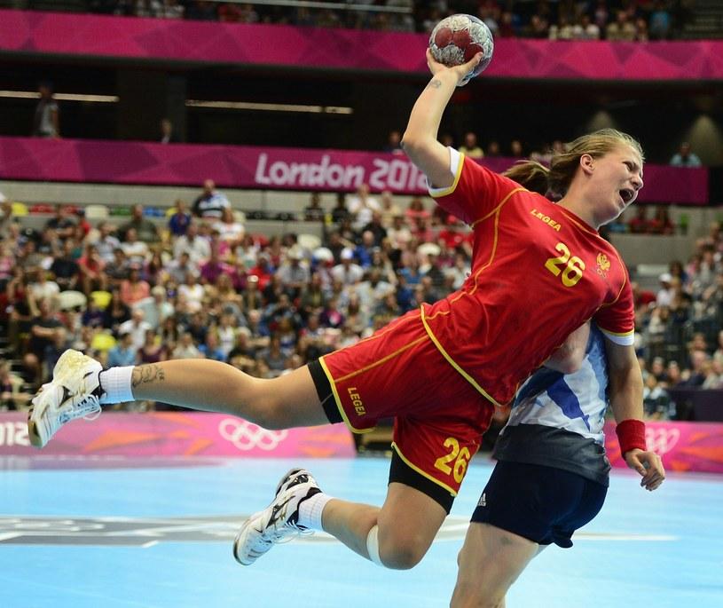 Piłkarka ręczna Czarnogóry Suzana Lazovic /AFP