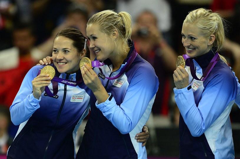 Piłkarki ręczne Norwegii zdobyły w Londynie złoty medal olimpijski /AFP